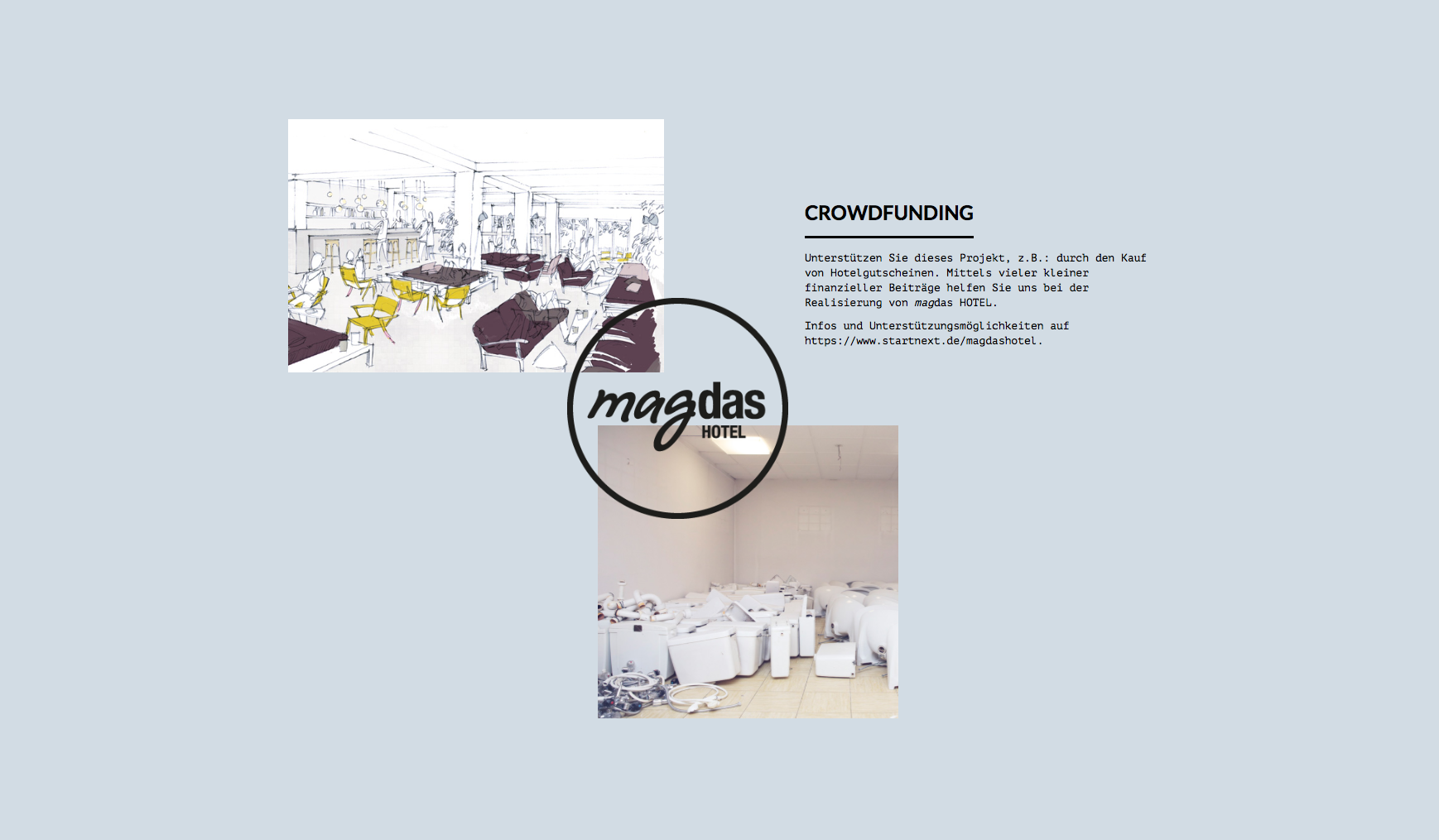 ))accente - magdas Hotel - Crowdfunding